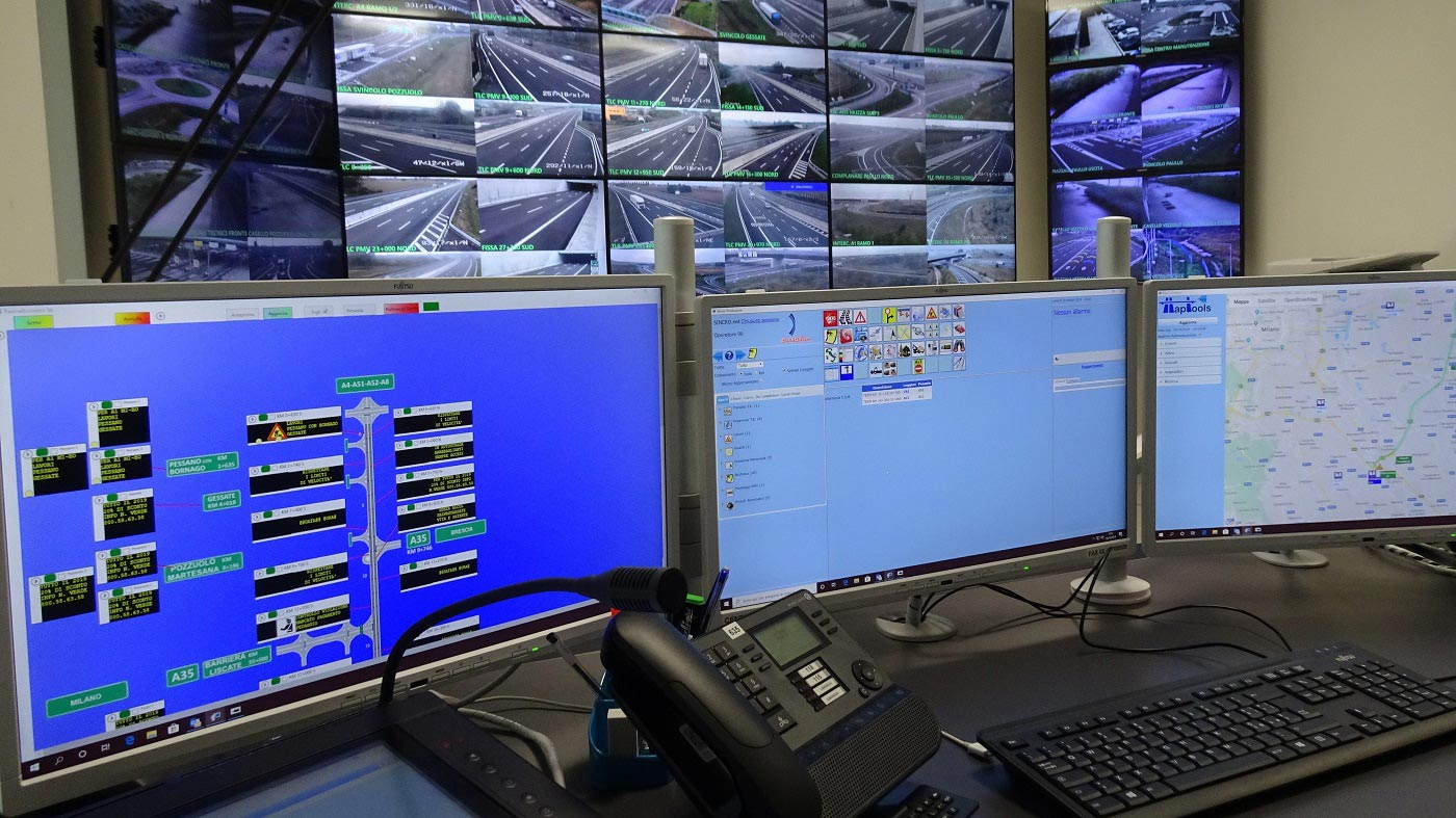 Milan Outer Eastern Bypass Road (A58-TEEM) chooses SINCRO as core of its new Operational Control Center, Sinelec
