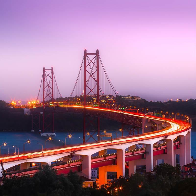Ponte 25 Aprile, Lisbona, Sinelec