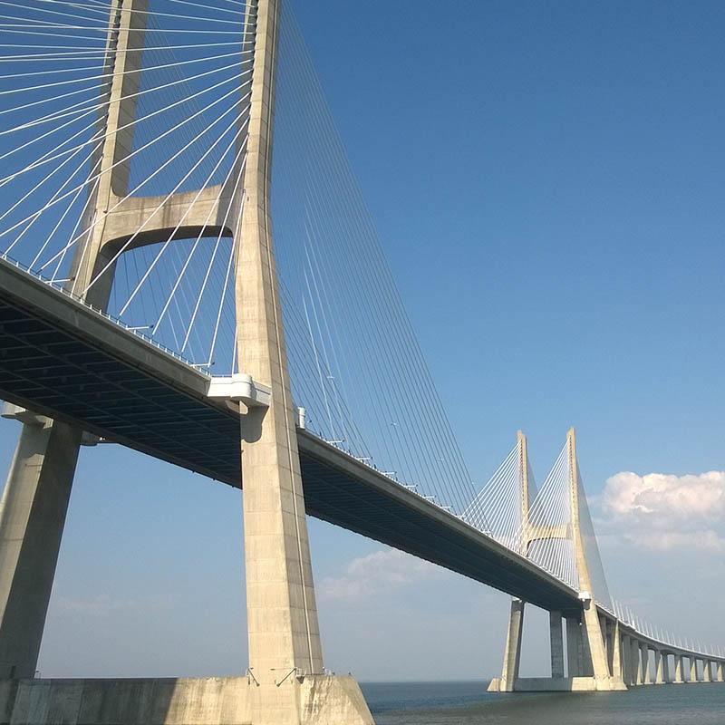 Ponte Vasco da Gama, Lisbona, Sinelec